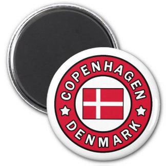 Kopenhagen Dänemark Runder Magnet 5,7 Cm