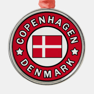 Kopenhagen Dänemark Silbernes Ornament