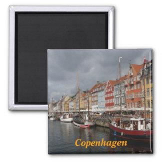 Kopenhagen-Kühlschrankmagnet Quadratischer Magnet