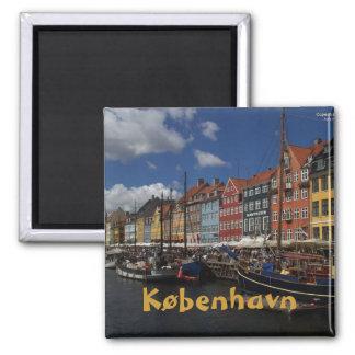 Kopenhagen Quadratischer Magnet