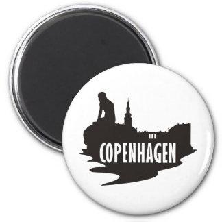 Kopenhagen Runder Magnet 5,7 Cm