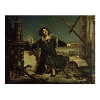 Kopernikus im Turm bei Frombork Postkarte
