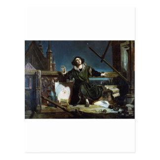 Kopernikus Postkarte