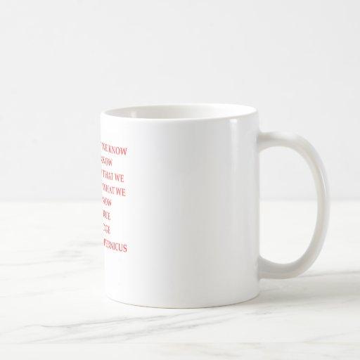 KOPERNIKUS-Zitat Kaffeehaferl