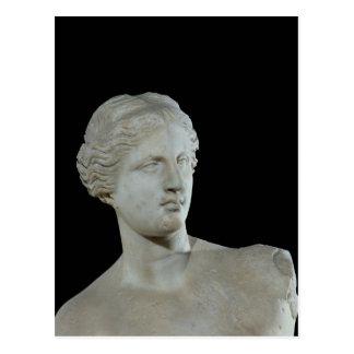 Kopf des Venus von Milos, c.100 BC Postkarte