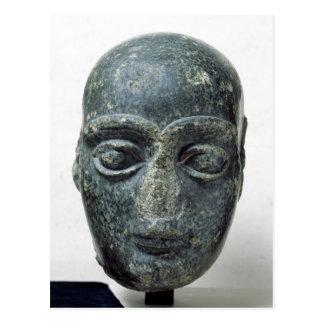 Kopf eines Mannes Postkarte