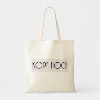 Kopf Hoch Tasche