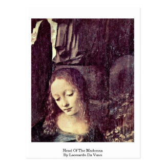 Kopf Madonnas vorbei Postkarte