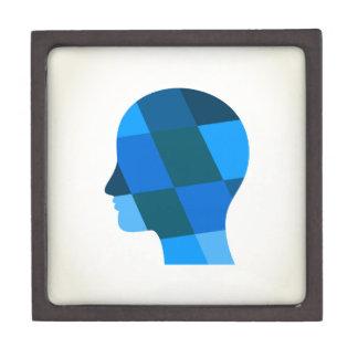 Kopf Schachtel