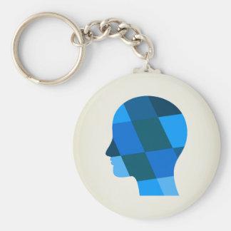 Kopf Schlüsselanhänger
