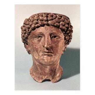 Kopf von Apollo, von Lillebonne Postkarte