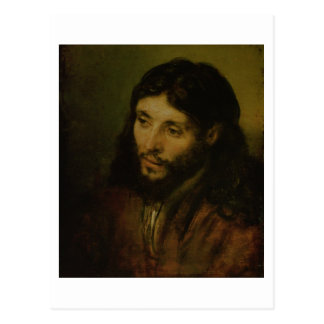 Kopf von Christus, c.1648 (Öl auf Leinwand) Postkarte
