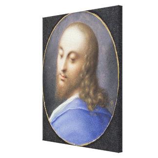 Kopf von Christus, Miniatur Gespannte Galeriedrucke