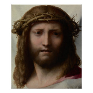 Kopf von Christus Plakat