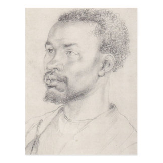 Kopf von einem afrikanischen Durer Postkarte