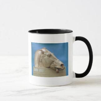 Kopf von einem der Pferde von Selene Tasse
