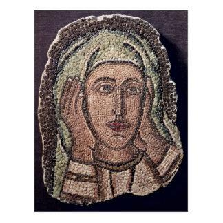 Kopf von einer der heiligen Frauen, von der Türkei Postkarte