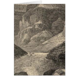 Kopf von Grand Canyon Karte