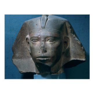 Kopf von König Djedefre, von Abu Roash, alt Postkarte