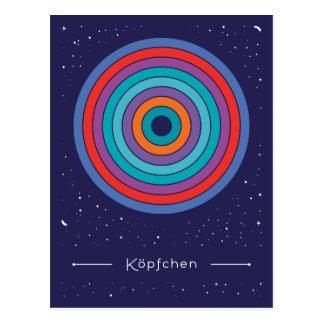 Köpfchen Postkarte