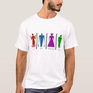 Kopffüßertoilette T-Shirt