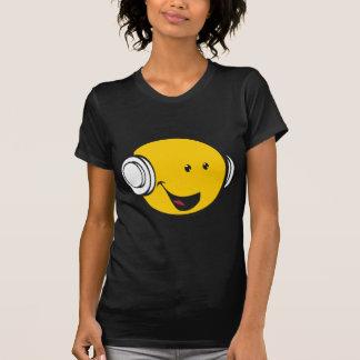 Kopfhörer Emoji T-Shirt