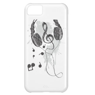 Kopfhörer (G) iPhone 5C Hülle