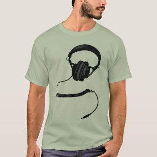 Kopfhörer Halbton T-Shirt
