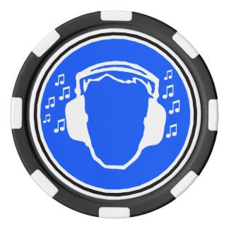 Kopfhörer-Poker-Chips Poker Chips Set