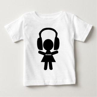 Kopfhörer Techno Musik Baby T-shirt