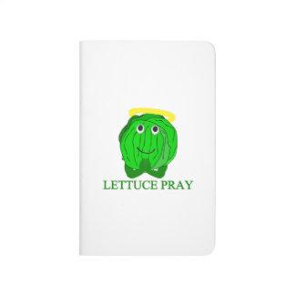 Kopfsalat beten taschennotizbuch