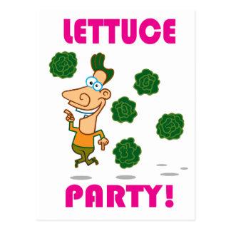 Kopfsalat PARTY! Postkarte