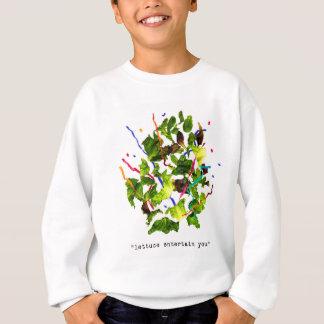 Kopfsalat unterhalten Sie - Licht Sweatshirt