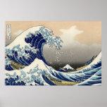 """Kopie """"der großen Welle"""" von Hokusais ursprünglich Poster"""