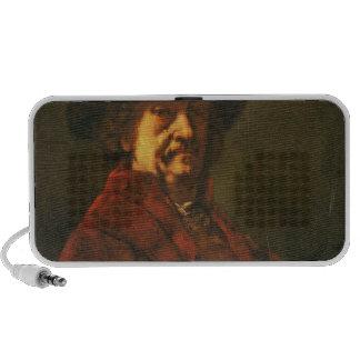 Kopie eines Rembrandt-Selbstporträts, 1869 Reise Lautsprecher