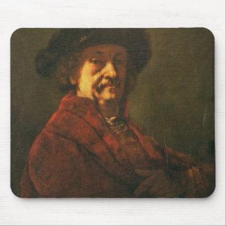 Kopie eines Rembrandt-Selbstporträts, 1869 Mousepads