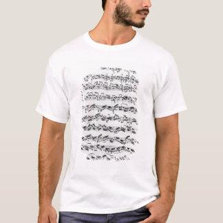 Kopie von 'Partita in d-Moll für Violin T-Shirt