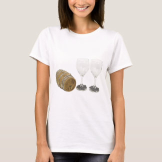 Kopie WineBarrelGlasses110709 T-Shirt