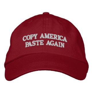KOPIEREN Sie AMERIKA-PASTE WIEDER Hut