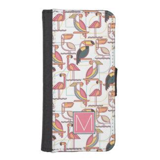 Kopieren Sie mit tropischen Vögeln, die | Ihre Geldbeutel Hülle Für Das iPhone SE/5/5s
