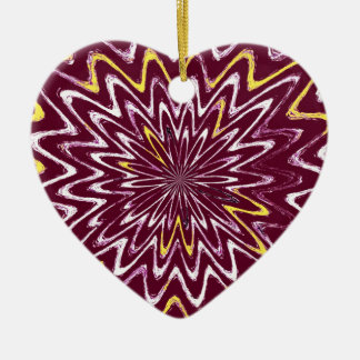 Kopieren Sie Winde u. Strudel-Kastanienbraun, Keramik Ornament