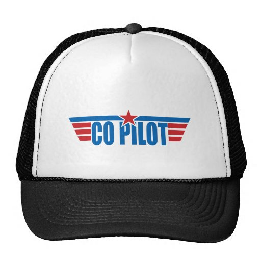 Kopilot Wings Abzeichen - Luftfahrt Retromütze