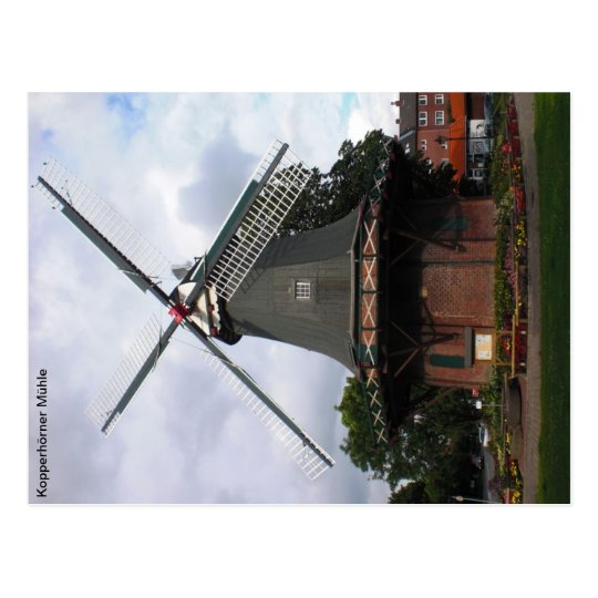 Kopperhörner Mühle / Galerieholländer Postkarte