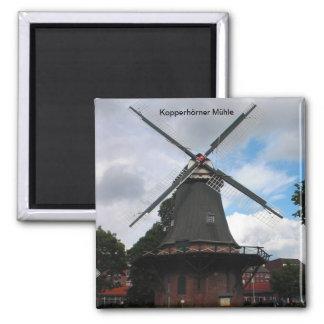 Kopperhörner Mühle / Wilhelmshaven / Deutschland Magnete