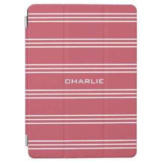 Koralle Stripes kundenspezifische iPad Air Hülle