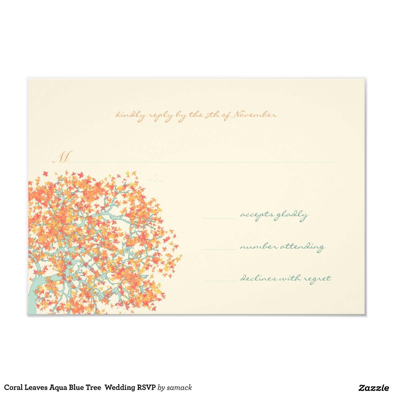 Koralle und Brown-Hochzeits-