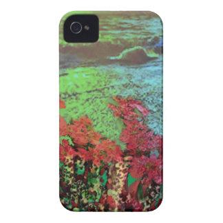 Korallen und Blumen iPhone 4 Hüllen