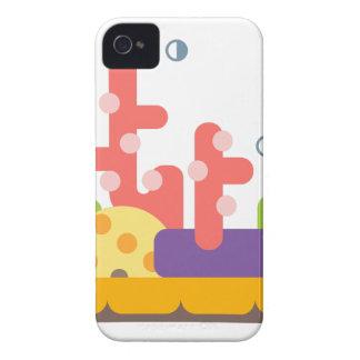 Korallenriff-Primitiv-Art iPhone 4 Hüllen