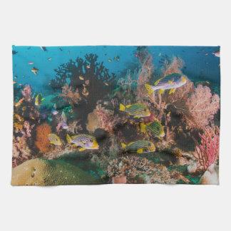 Korallenriffhandtuch Handtuch