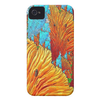 Korallenrote Illustration iPhone 4 Hüllen